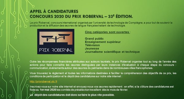 Lg rob20 appel   candidatures